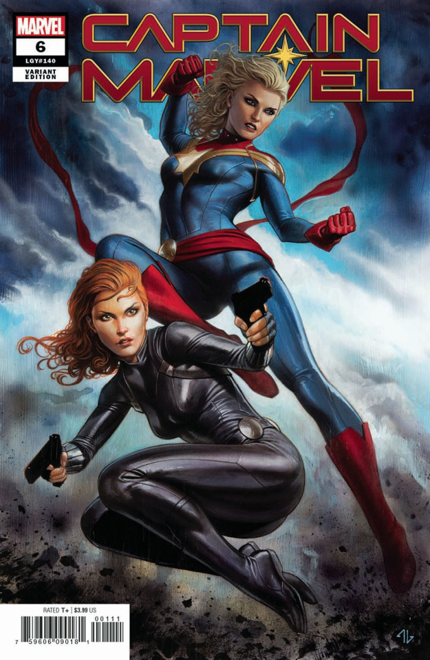 Captain Marvel #6 (Granov Cover)