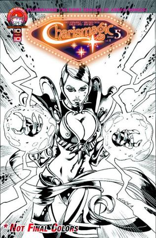 Charismagic #5 (Direct Market Cover)
