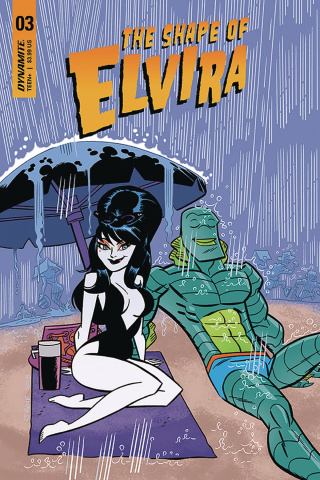 The Shape of Elvira #3 (J Bone Cover)