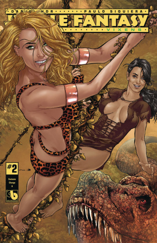 Jungle Fantasy: Vixens #2 (Costume Change Cover)