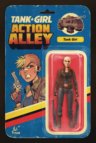 Tank Girl: Action Alley #1 (Action Figure Cover)