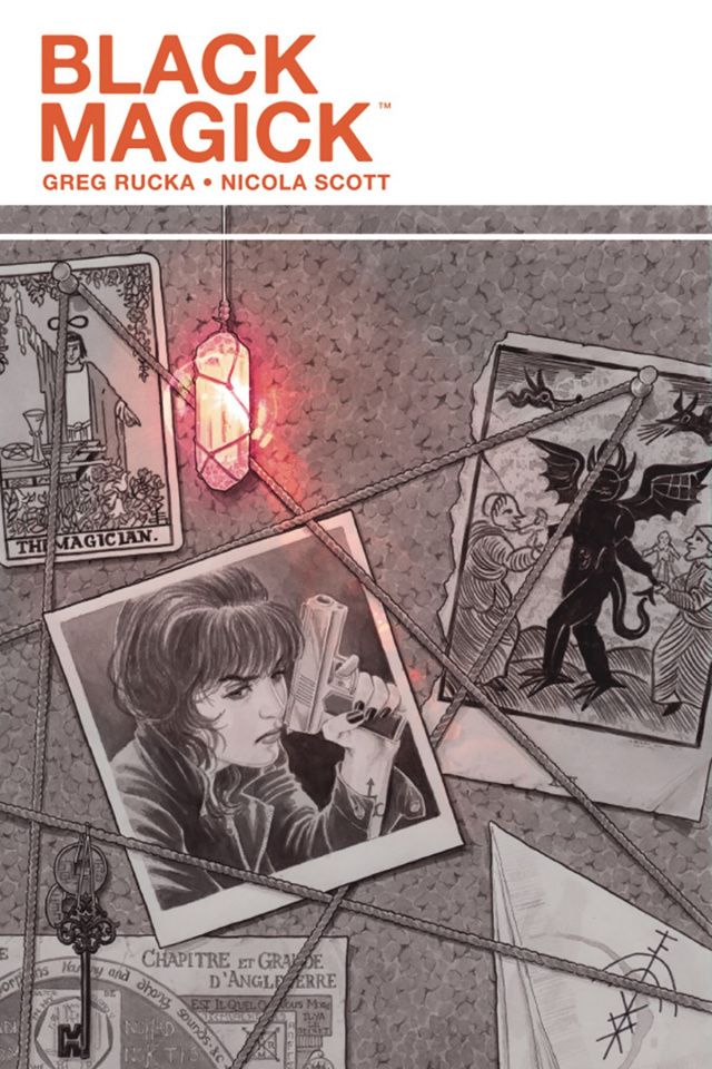 Black Magick #8 (Scott Cover)