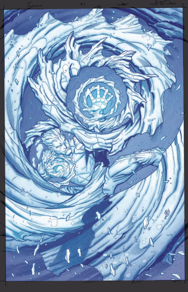 Iceman #1 (Bradshaw Cover)