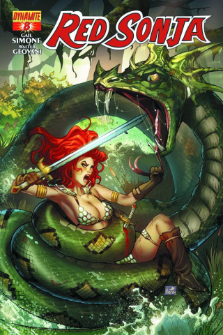 Red Sonja #8 (Ruffino Cover)
