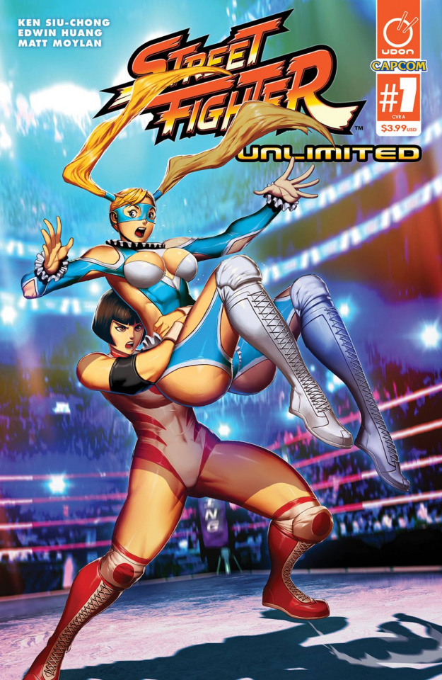 Street Fighter Unlimited #7 (Genzoman Story Cover)