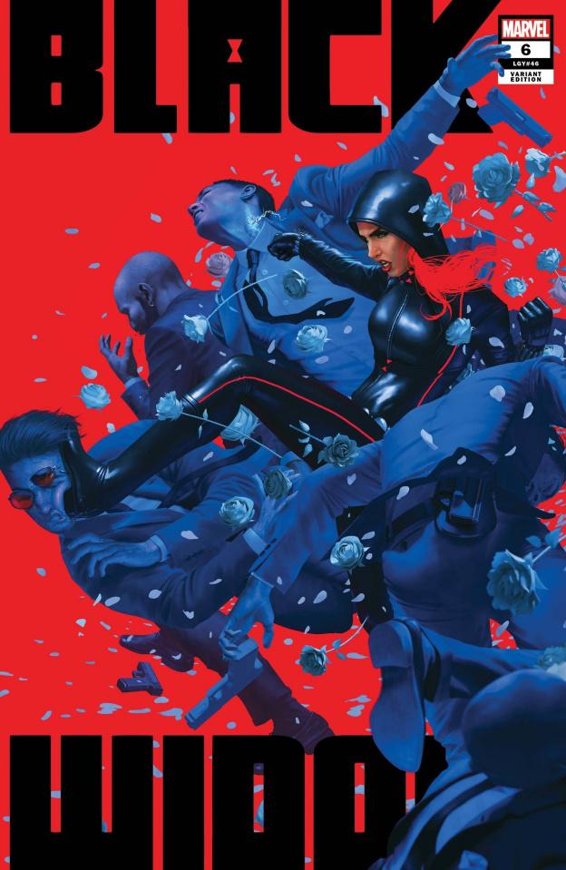 Black Widow #6 (Rahzzah Cover)