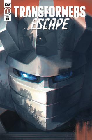 Transformers: Escape #1 (10 Copy Pitre-Durocher Cover)