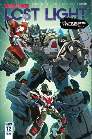 The Transformers: Lost Light #12 (Lawrence Cover)