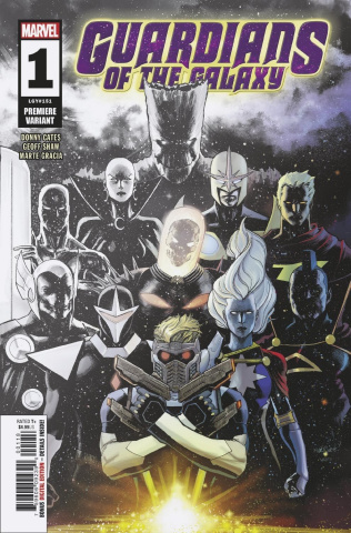 Guardians of the Galaxy #1 (Marquez Cover)