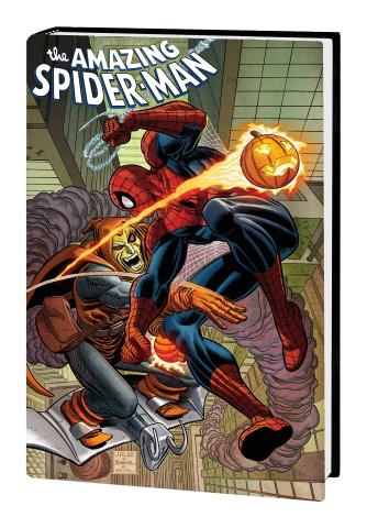 Spider-Man by Stern (Omnibus Spider-Man Hobgoblin Cover)