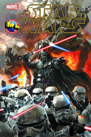 Star Wars #1 (M&M Dorman Cover)