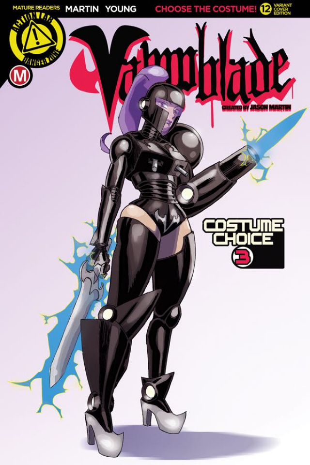Vampblade #12 (Costume 3 Choice Cover)
