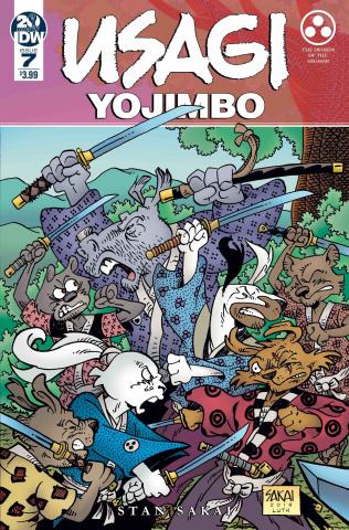 Usagi Yojimbo #7 (Sakai Cover)