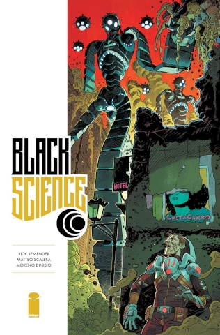 Black Science #32 (Hawthorne Cover)