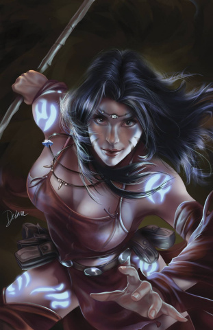 Grimm Fairy Tales: Robyn Hood #6 (Delara Cover)