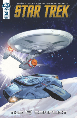 Star Trek: The Q Conflict #3 (Messina Cover)