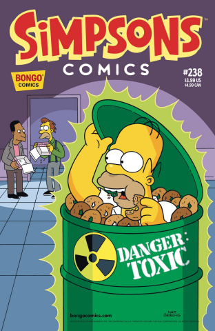 Simpsons Comics #238