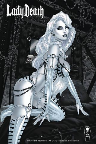 Lady Death: Malevolent Decimation #1 (Premium Foil Cover)