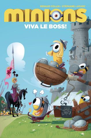 Minions: Viva Le Boss! #2 (Collin Cover)