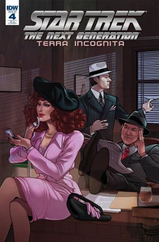 Star Trek: The Next Generation - Terra Incognita #4 (10 Copy Beals Cover)