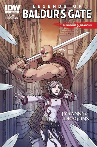 Dungeons & Dragons: Legends of Baldur's Gate #1 (Subscription Cover)