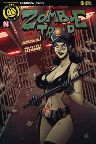 Zombie Tramp #27 (Caged Heat Cover)
