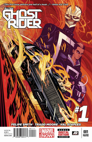 All-New Ghost Rider #1 (2nd Printing)