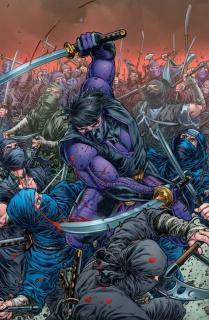 Ninjak #21 (20 Copy Ryp Cover)