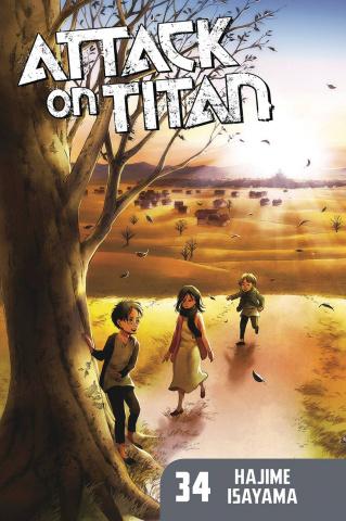 Attack On Titan Vol. 34