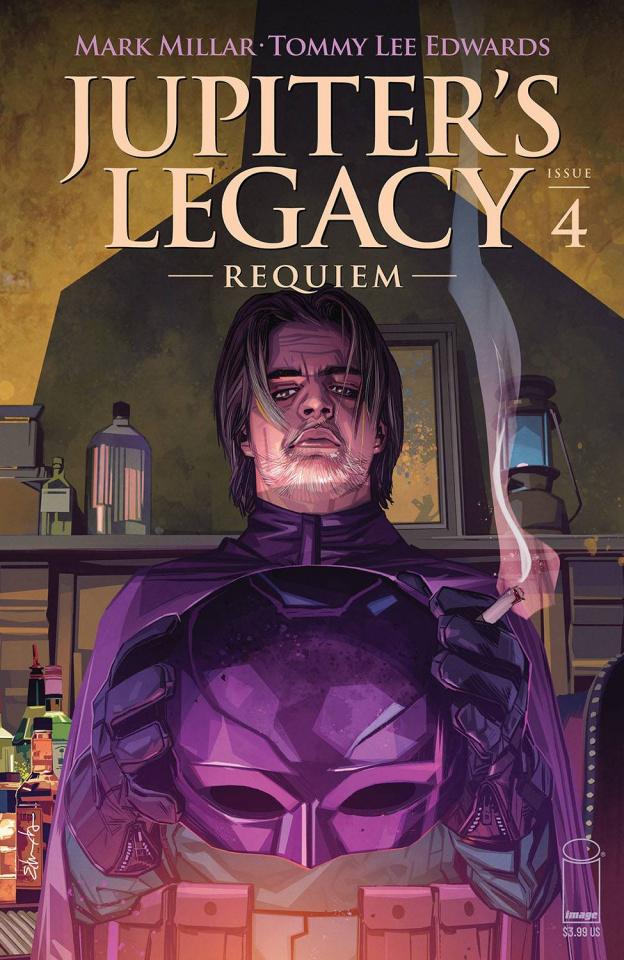 Jupiter's Legacy: Requiem #4 (Edwards Cover)