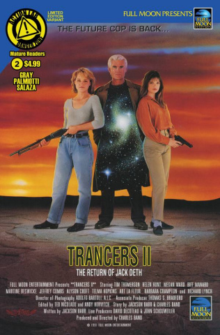 Trancers #2 (Movie Poster Cover)
