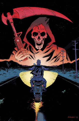 Sons of Anarchy: Redwood Original #9 (Marron Cover)