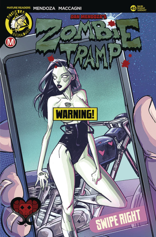 Zombie Tramp #45 (Maccagni Risque Cover)