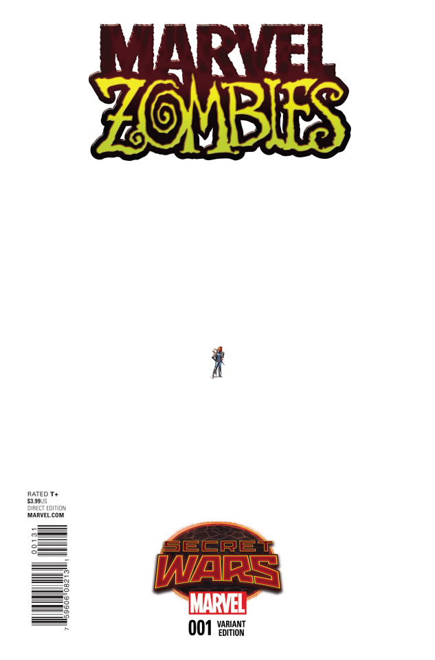 Marvel Zombies #1 (Opena Ant-Sized Cover)