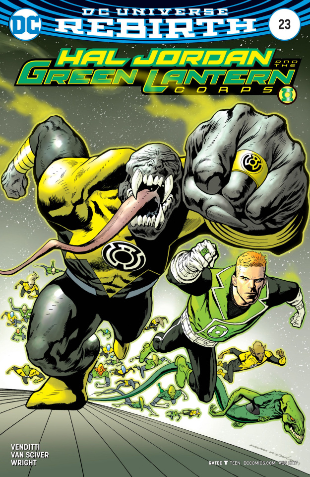 Hal Jordan and The Green Lantern Corps #23 (Variant Cover)