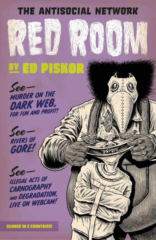 Red Room #1 (Piskor 5 Copy Cover)