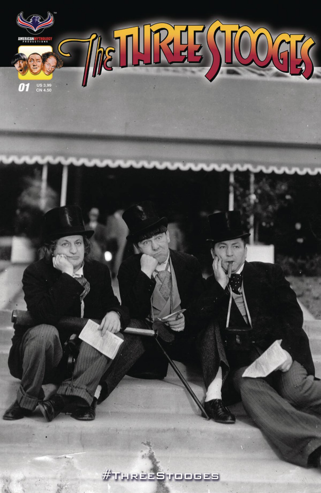 The Three Stooges: Stooge-A-Palooza #2 (3 Copy Cover)