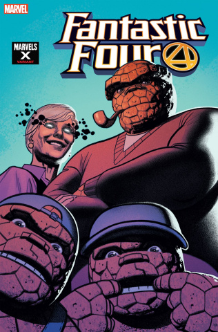 Fantastic Four #18 (Smallwood Marvels X Cover)