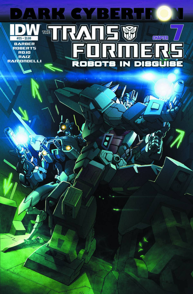 The Transformers: Robots in Disguise #25: Dark Cybertron, Part 7
