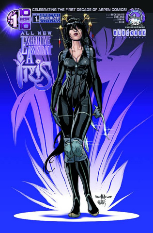 All New Executive Assistant Iris #1 (Aspen Reserved Cover)