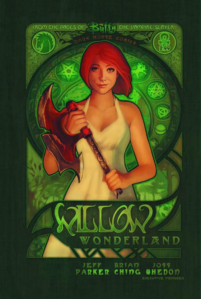 Buffy the Vampire Slayer: Willow Wonderland #2 (Lara Cover)