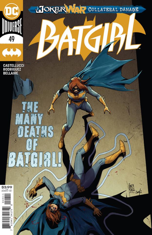 Batgirl #49 (Giuseppe Camuncoli Cover)