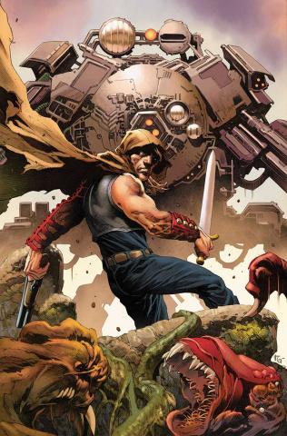 Wrath of the Eternal Warrior #9 (Giorello Cover)