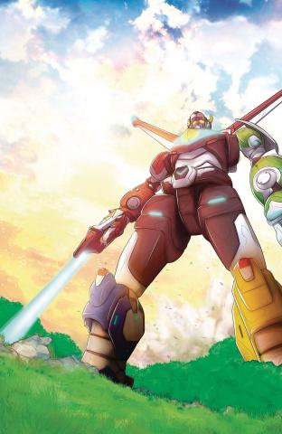 Voltron: Legendary Defender #4 (Rubine Cover)