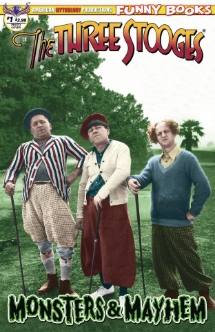 The Three Stooges: Monsters & Mayhem #1 (Color Photo Cover)