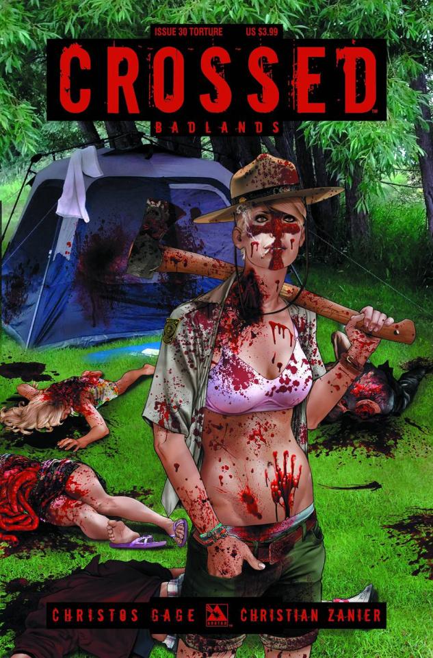 Crossed: Badlands #30 (Torture Cover)