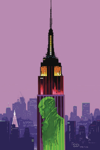 Resident Alien #2: Alien in New York