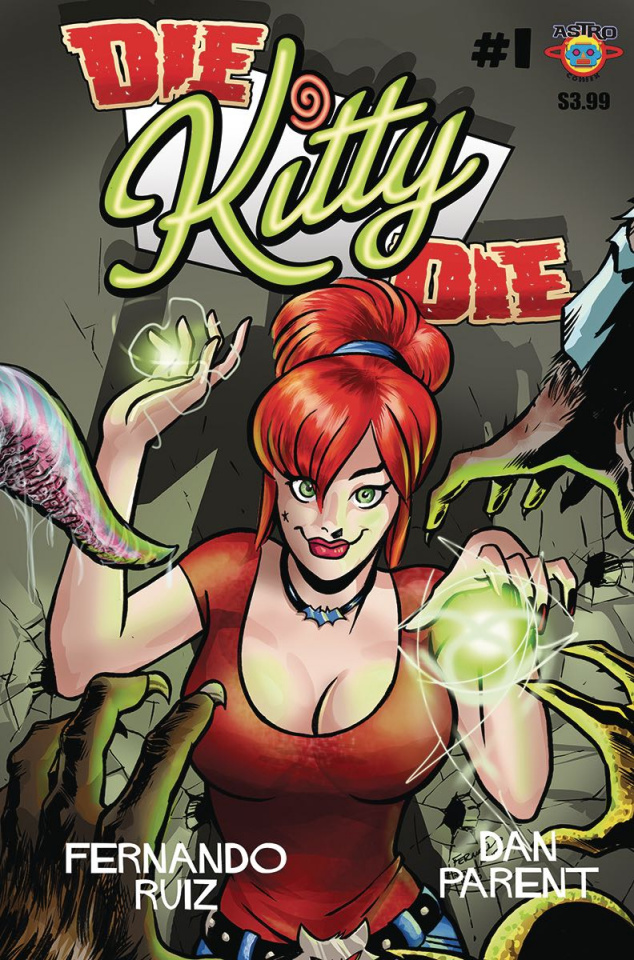 Die Kitty Die #1 (Ruiz Cover)