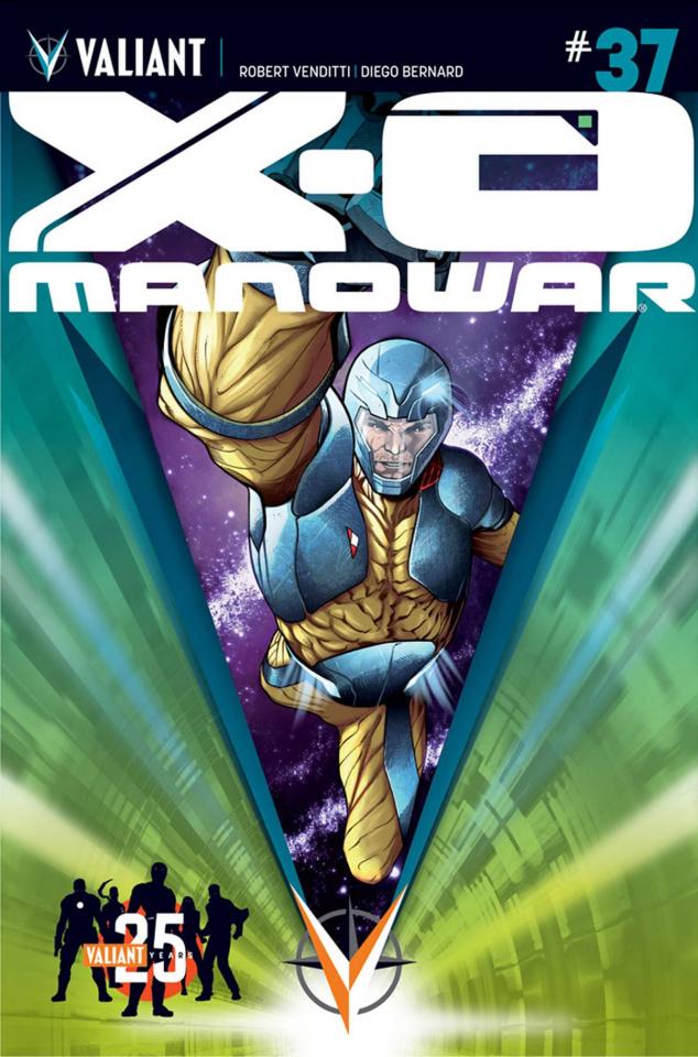 X-O Manowar #37 (25th Anniversary Sandoval Cover)