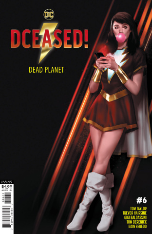 DCeased: Dead Planet #6 (Ben Oliver Movie Homage Card Stock Cover)